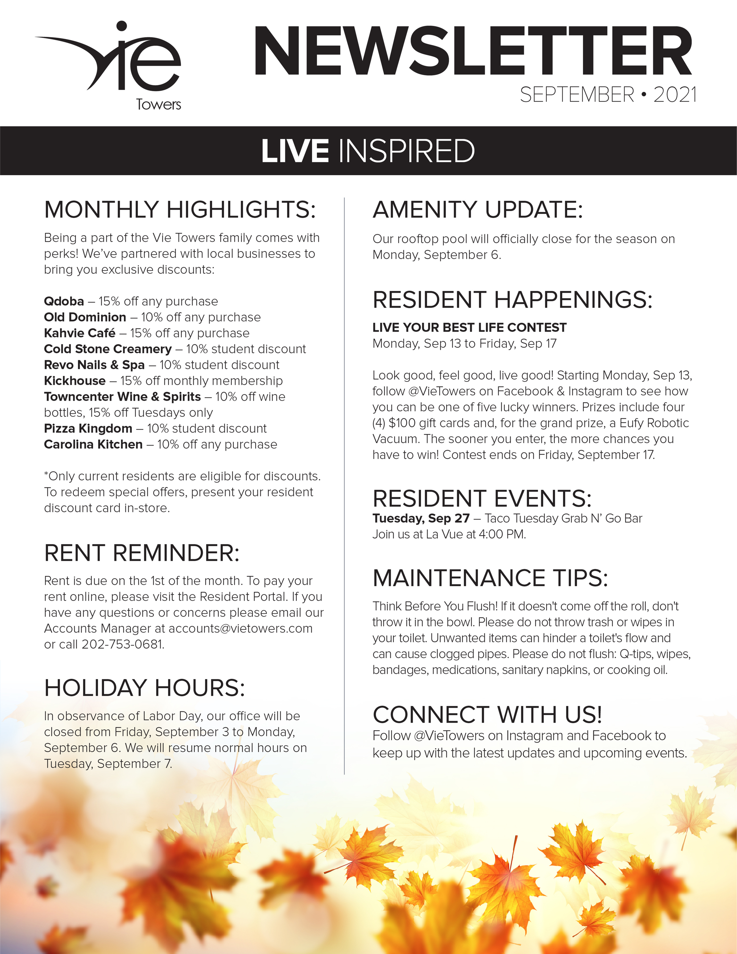 Monthly Updates & Upcoming Events (September)-image