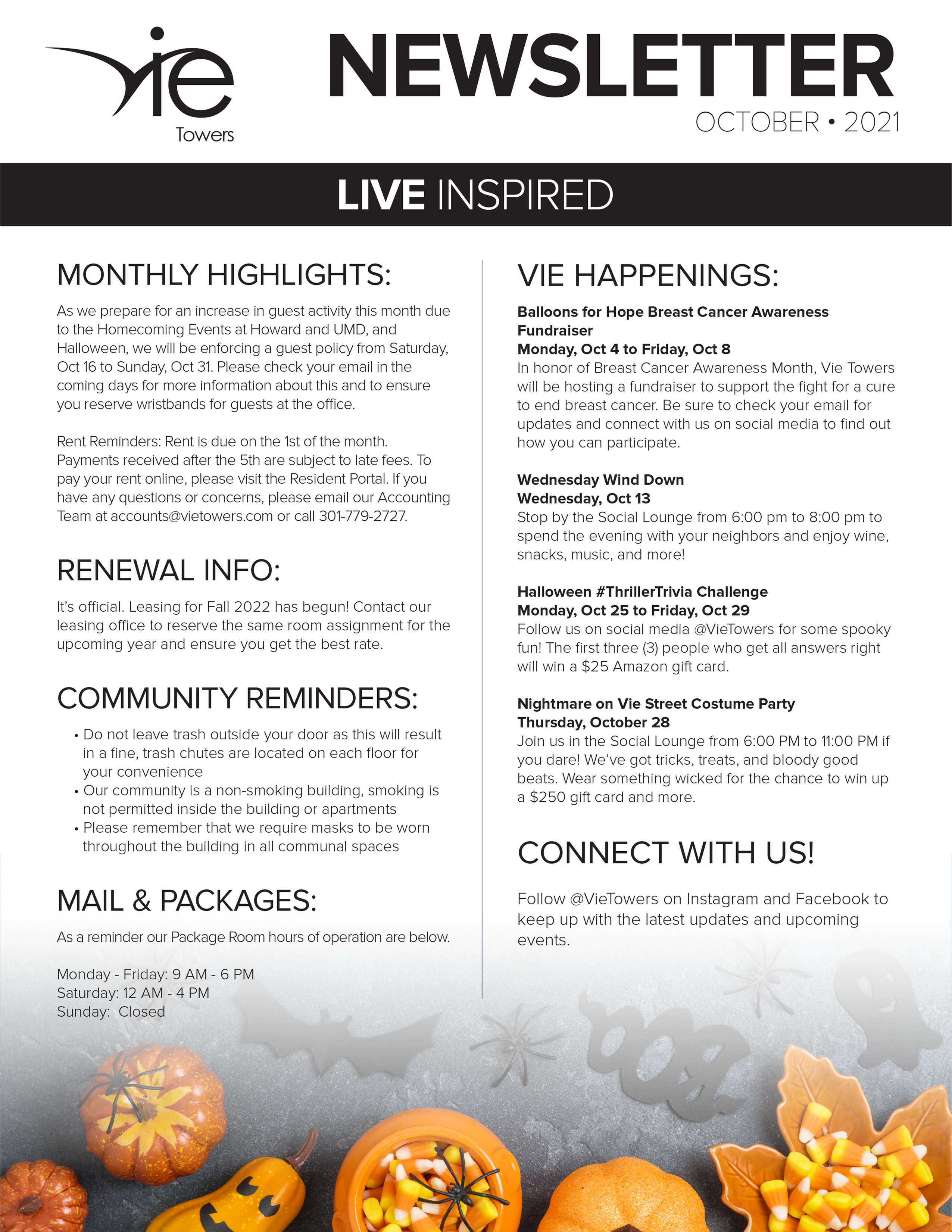 Monthly Updates & Upcoming Events (October)-image