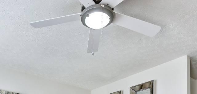 Ceiling Fan in Living Area