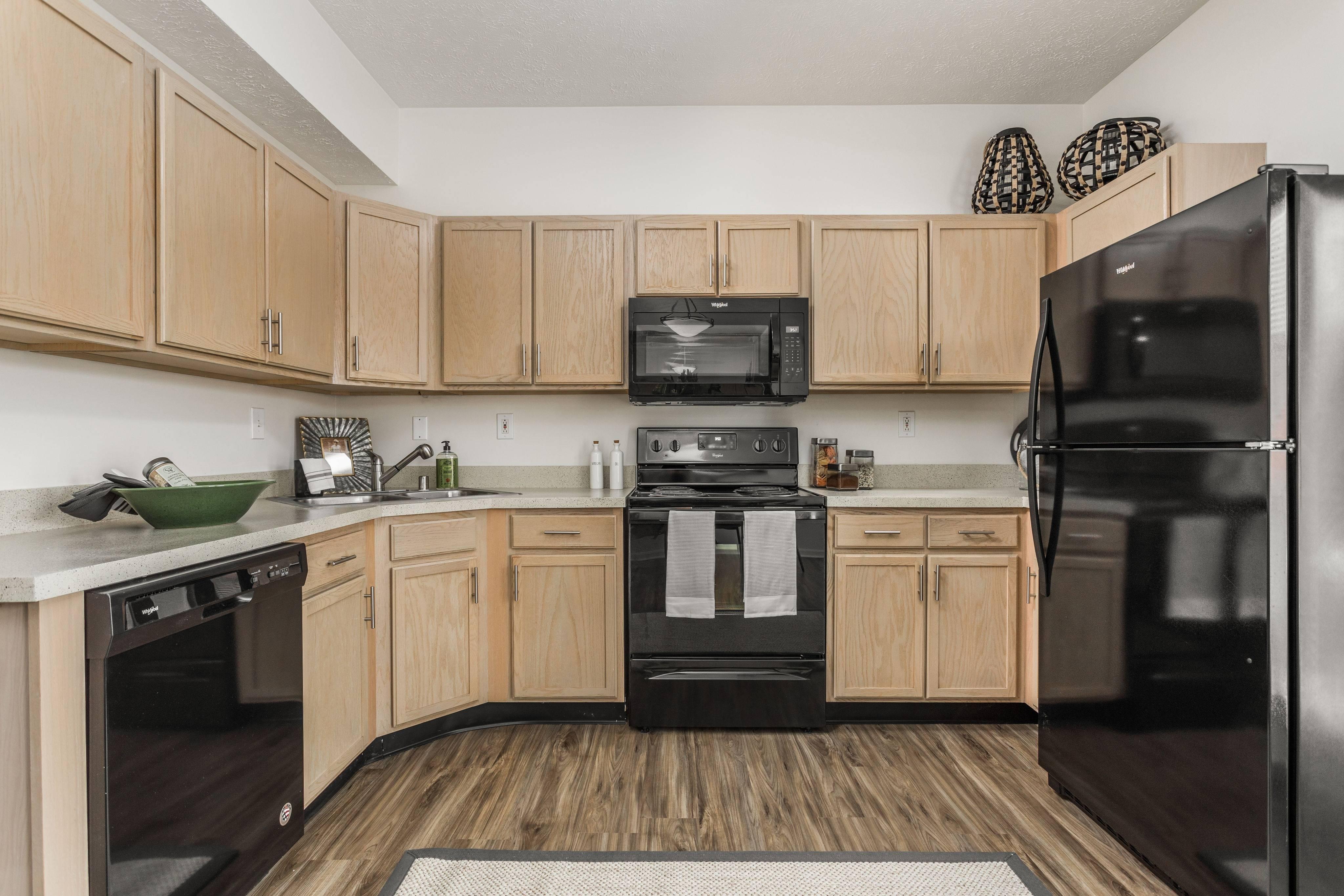 Upgraded Kitchen Appliances