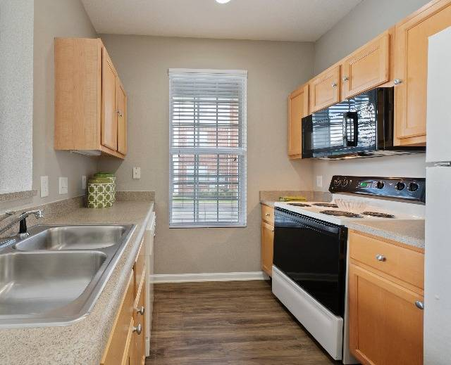Spacious Kitchen with Plenty of Cabinet Storage