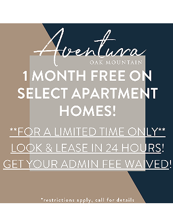 1 MONTH FREE + LOOK & LEASE!