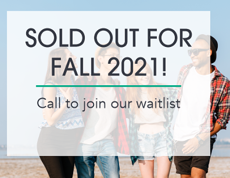 Sold Out For Fall 2021