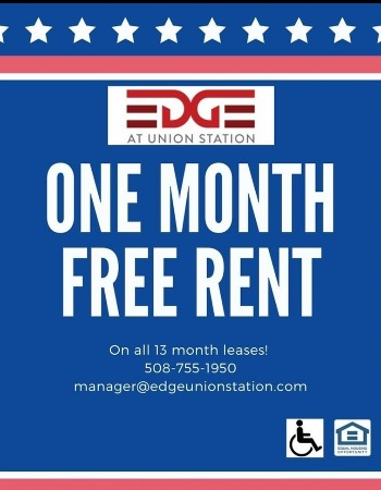 One Month Free Rent!